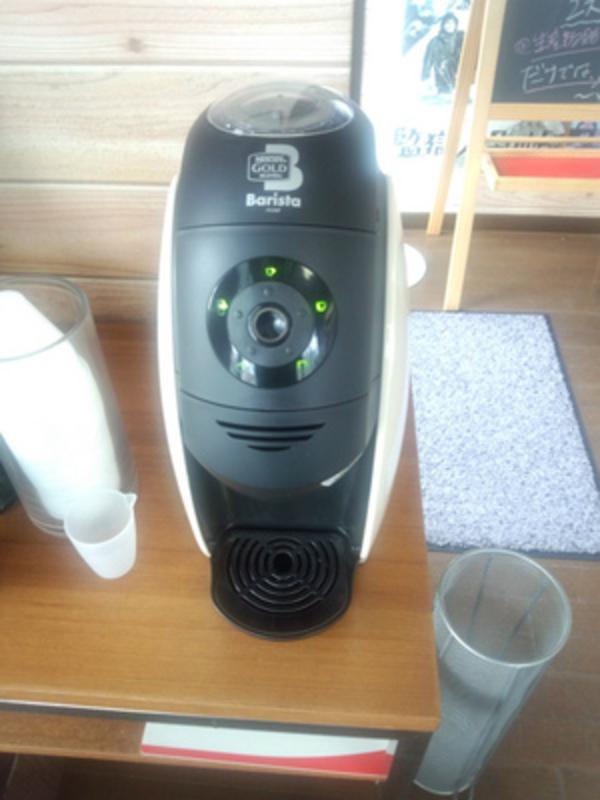 コーヒーをいれてみました
