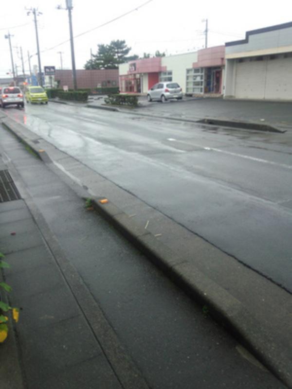 富士市は、雨です。