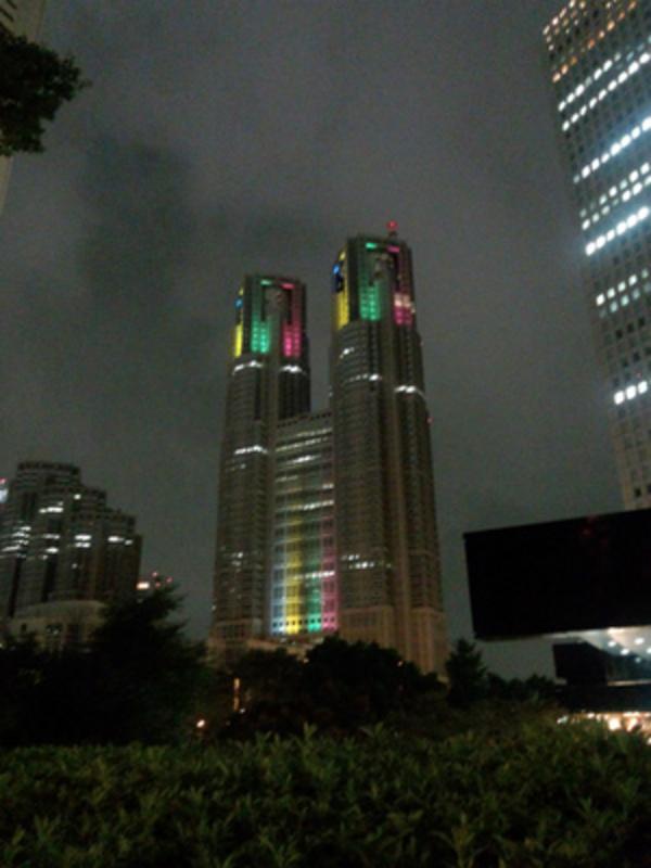 東京オリンピックと落雷事故