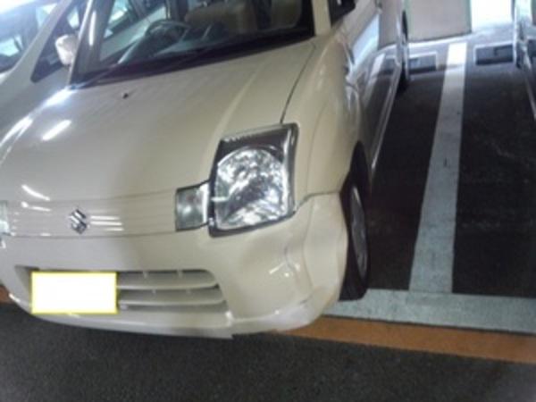 駐車場内の事故