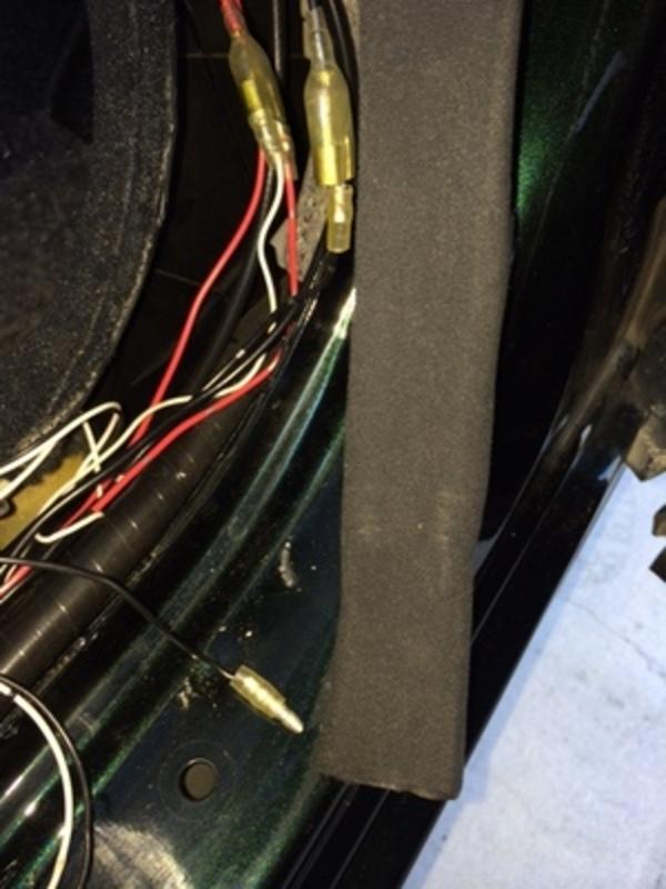 セルシオのスカッフプレート修理