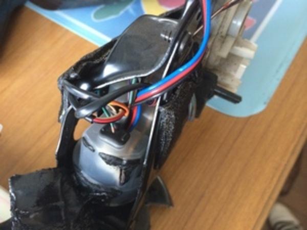 セルシオのドアミラー修理3