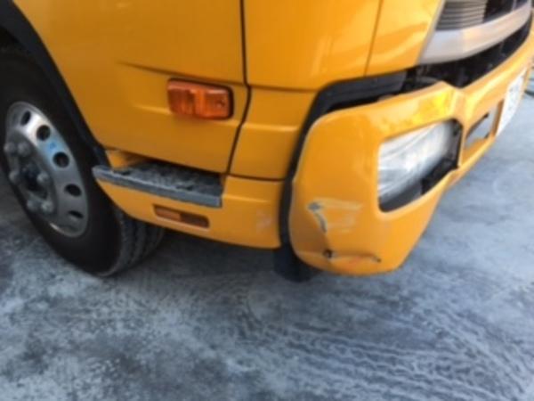 車両単独事故